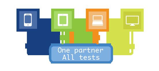 one partner